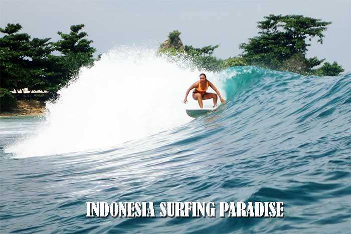 INDONESIA SURFING PARADISE