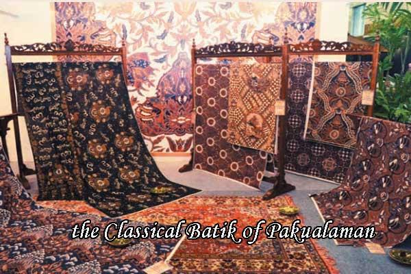 the Classical Batik of Pakualaman